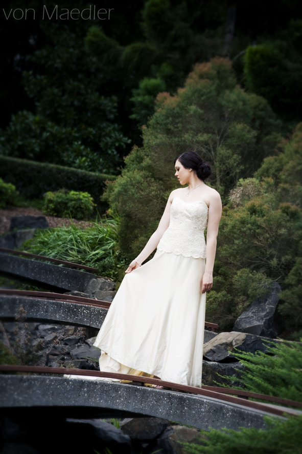 Japanese Garden Wedding Photography