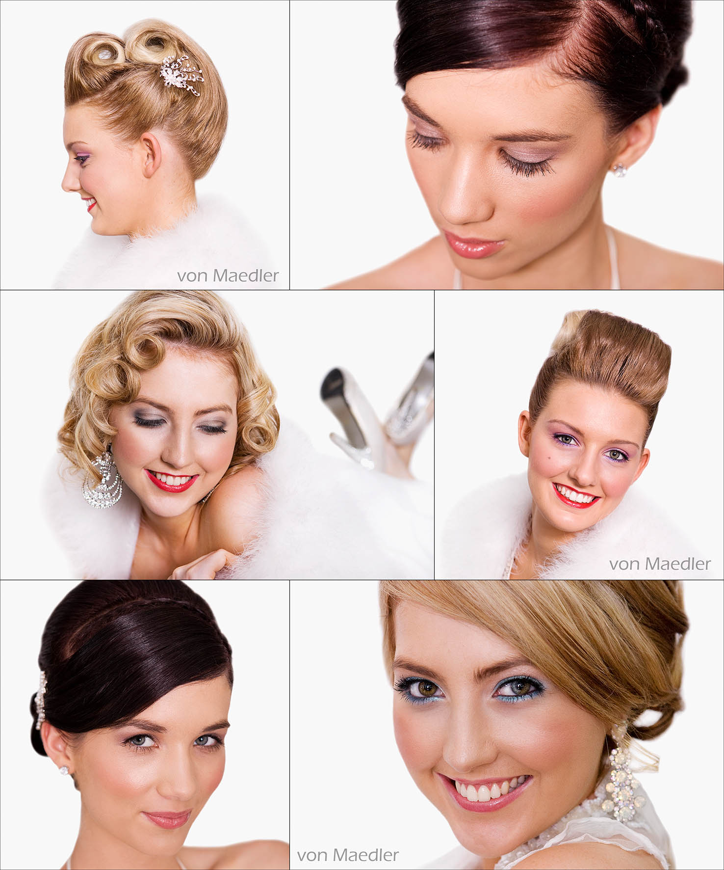 Wedding preparation photography