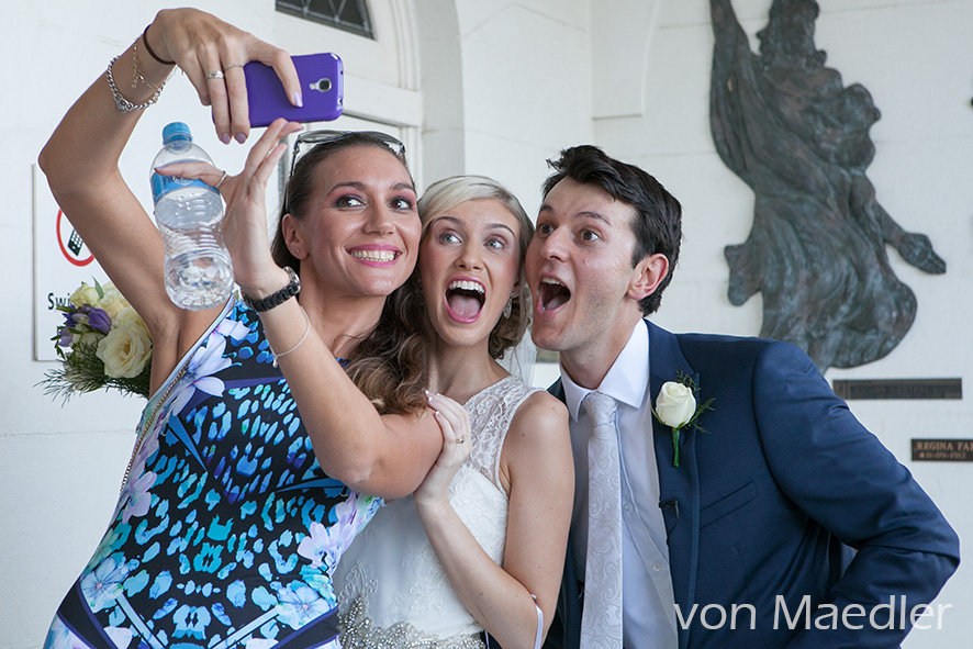Wedding Selfies